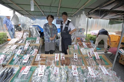 鮮魚以外の干物などを扱う海産物店